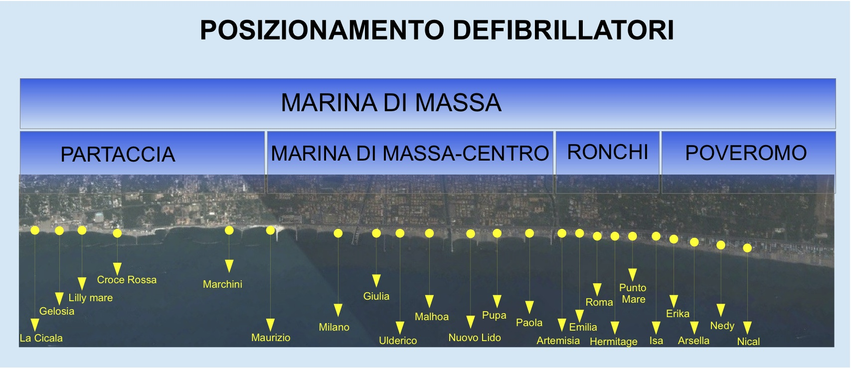 Cartina toscana marina di massa vrijzinnigepolitiek - Bagno la cicala marina di massa ...